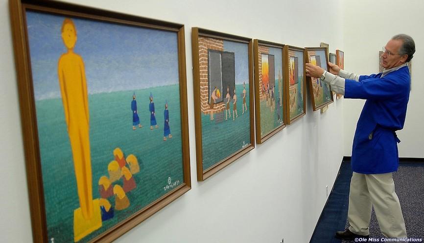 Theora Hamblett Paintings at the University Museum